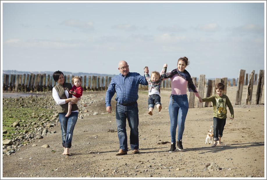 Modern family photography Ireland